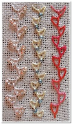 No.106 Cretan Looped,107 Beaded Cretan Looped | Flickr - Photo Sharing!