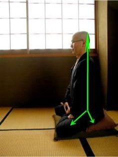 La pratique de zazen est le secret du zen. Cette pratique repose sur trois «piliers» la posture, la respiration et l'attitude de l'esprit...