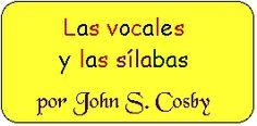 """Las vocales y las sílabas cancion to the tune of """"If you're happy & you know it"""""""