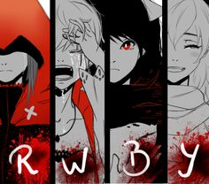 The RWBY team and their struggles/tragedy Anime Wolf, Anime K, Rwby Anime, Anime Girls, Rwby Comic, Rwby Fanart, Neko, Rwby Bumblebee, Red Like Roses
