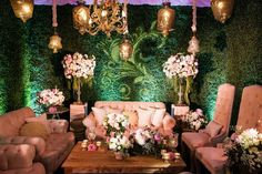 Alice in Wonderland themed lounge ~ Planner: Disney's Fairy Tale Weddings & Honeymoons ~ Floral & Decor: Flowers by Cina ~ Rentals: Revelry Event Designers ~ Photography: White Rabbit Photo Boutique ~ Lighting: Invisible Touch Events ~ Featured in Grace Ormonde Wedding Style