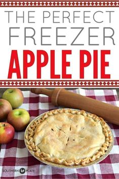 Freezer Apple Pie ~ www.southernplate… Freezer apple pie ~ www. Freezer Apple Pie Recipe, Apple Pie Recipes, Pumpkin Recipes, Apple Desserts, Pumpkin Apple Pie, Pudding Desserts, Pastry Recipes, Fall Dessert Recipes, Fall Recipes