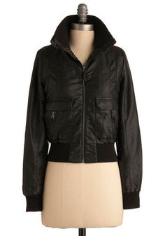 This is a bomber jacket. Just in case anyone was wondering what they look like. Anyone at all...
