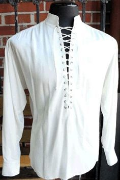 Marquis shirt classic white - Weird Shirts - Ideas of Weird Shirts - Camisa Medieval, Moda Medieval, Punk Outfits, Gothic Outfits, Fashion Outfits, Fashion Vest, Fashion Boots, Fashion Rings, Medieval Clothing