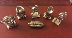My MLB Monopoly Collectible Replacement Pewter Tokens #ParkerBrothers