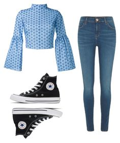 """""""Mila's casual wear"""" by pantsulord on Polyvore featuring Daizy Shely, River Island and Converse"""