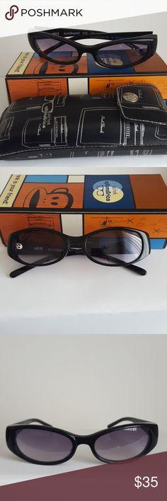 Paul Frank Sunglasses Sunburst Black Paul Frank Sunglasses, with carrying case and original box Paul Frank Accessories Sunglasses