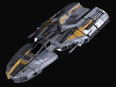 light freighter. this kind of ship can have additional cargo bays attached on either side