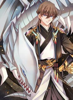 Yugioh - Kaiba and Blue Eyes White Dragon