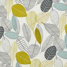 Buy John Lewis Leaves Rectangular Wipe Clean Tablecloth Online at johnlewis.com