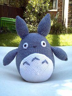 I think Kaiya definitely needs mom to make her a crocheted little Totoro.