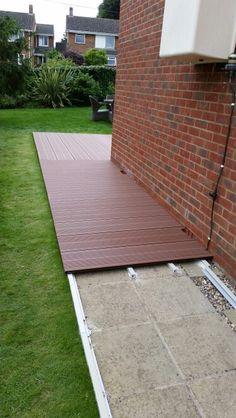 Day 3 of ground deck in Ipswich