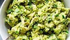 Get Guacamole Chicken Salad Recipe from Food Network Guacamole Chicken Salad Recipe, Chicken Salad Recipe Food Network, Chicken Salad Recipes, Food Network Recipes, Chicken Salads, Chef Recipes, Keto Recipes, Rotisserie Chicken Salad, Fresh Lime Juice