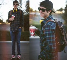 Backpacks are great to have as well as baseball caps. Especially for College.