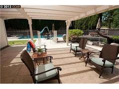 783 Contada Cir, Danville, CA 94526 — Escape to this 5 bd\3 bath retreat!! The expansive lot is nearly a ½ acre in park~like setting w\ gated pool, pool house, spa, firepit  and  waterfall. Interior includes: cherrywood flooring, custom insulation, plantation shutters  and  gourmet kitchen w\ granite, ss appliances, custom cabinets  and  much more!!!