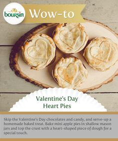 Skip the candy and give your sweetie something truly from the heart.  Brought to you by the Boursin Purveyor of Wow Shop.