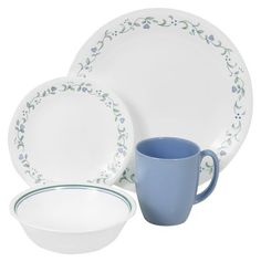 This #Corelle Livingware™ Country Cottage 16-pc Dinnerware Set is perfect for your Easter meal.// Click through to shop.