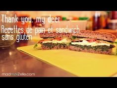 ▶ Thank you, my deer - Recettes de pain sans gluten et sandwichs - YouTube