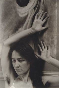Georgia O'Keefe by Alfred Stieglitz.   Every time I was about to move on from this image, something held me back. It's captivating.