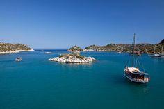 Bahía de Kekova, Turquía