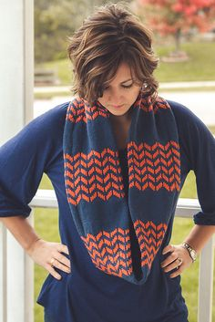 Flambeau Scarf By Sara Gresbach - Purchased Knitted Pattern - (ravelry)