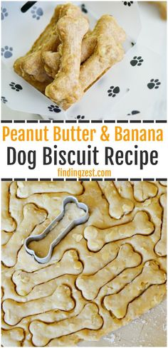 This dog biscuit recipe inspired by Biscuit the Dog is a perfect kids activity! Make these peanut butter and banana homemade dog treats with your child to pamper your pup. Don't forget to pick up Biscuit Goes to the Library, a level 1 book from t Puppy Treats, Diy Dog Treats, Healthy Dog Treats, Good Dog Treats, Healthy Food, Dog Treats With Pumpkin, Homeade Dog Treats, Natural Dog Treats, Homemade Dog Cookies
