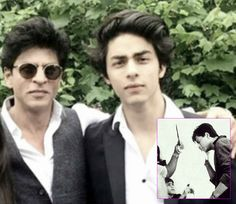 Aryan Khan is a doting son to superstar Shah Rukh Khan  heres proof!