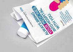 BML Creative | Your Medicines, Your Health Campaign for NHS Leeds Teaching Hospitals Trust - branded pharmacy bag
