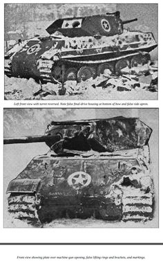 During the Battle of the Bulge numbers if Panther tanks were modified to look like the American tank destroyer to wrrak as much Havoc as possible during the opening stages of the German attack M10 Tank Destroyer, General Motors, Us Armor, Tank Armor, Model Tanks, Ardennes, Armored Fighting Vehicle, Ww2 Tanks, World Of Tanks