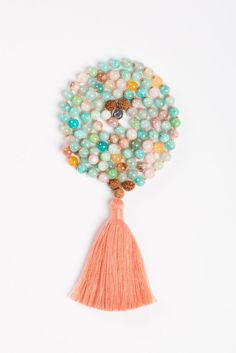 - Info - Gemstones - Size & Fit - I choose to release my inhibitions and live life as a free spirit. I am connected to my spiritual power, and am open to what the universe has in store for me. Textile Jewelry, Jewelry Art, Yoga Leggings, Yoga Accessoires, Alo Yoga, Yoga Mala, Free Spirit, Tassel Necklace, Jewelry Making