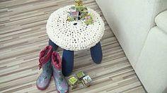 Textil - Smotanový svetrík na stoličku  - 4402485_