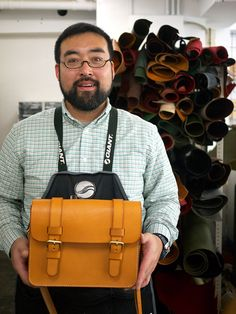 Herz is a small Japanese (Shibuya district of Tokyo) based leather craftsman workshop, which started in 1973.
