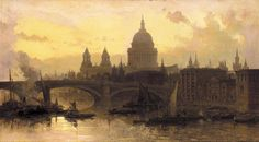 Roberts David St. Pauls from the Thames Looking West.jpg