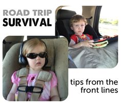 Great ideas for keeping the kids occupied on long road trips