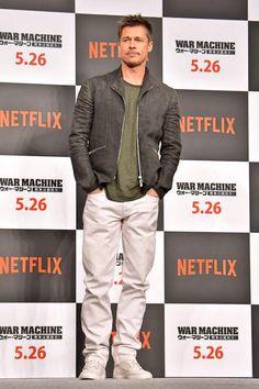 Brad Pitt a retrouvé son sourire au Japon