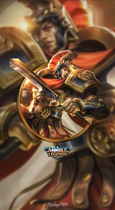 Wallpaper Phone Lapu-Lapu Imperial Champion by FachriFHR on DeviantArt Mobile Legend Wallpaper, Hero Wallpaper, Legend Games, The Legend Of Heroes, King Of Fighters, Gaming Wallpapers, Best Mobile, Mobile Legends, League Of Legends