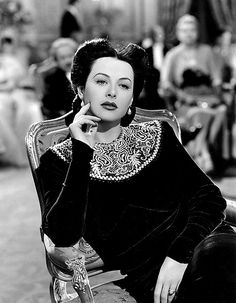 "hedwigkieslers: "" Hedy Lamarr in a publicity still for Crossroads (1942) """