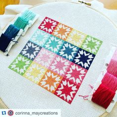"257 Likes, 12 Comments - Keera Job • @livelovesew (@keera.job) on Instagram: ""Isn't this #americanhoneystitching just beautiful! @corinna_maycreations has done a gorgeous job…"""