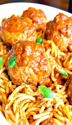 My all-time favorite Classic Italian Meatball recipe. Tender. juicy. meaty with just the right seasonings. Oh and as a total bonus these beauties are baked NOT fried!