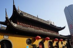 Jade Buddha Tempel in Shanghai, China