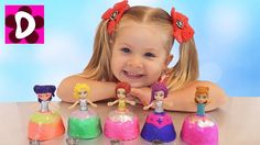 Cupcake surprise toys Cuppatinis dolls for children nursery rhymes songs    {{AutoHashTags}}