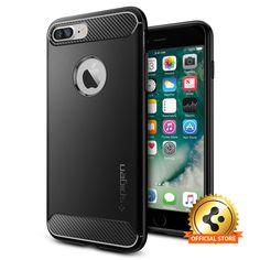 For Apple iPhone 7 Plus [Rugged Armor] Shockproof Cover Mil-Grade Case #Spigen