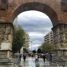 Camara is a famous monument of Thessaloniki. www.thesstips.wordpress.com