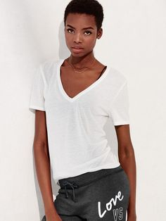 Pin for Later: An Ultimate Guide to Finding the Best White T-Shirt of Your Life Victoria's Secret