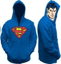 #970 NEW SUPERMAN HOODY SIZE XXL FREE SHIPPING