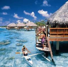 Yes please! Image: Tahiti - South Pacific Vacations. #honeymoon