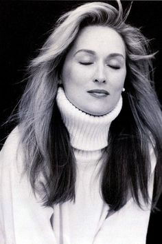 meryl streep in black and white - Google Search