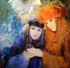 Картины современных художников: Jean-Claude Campana - современный французский художник