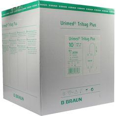 URIMED Tribag Plus Urin Beinbtl.800ml 60cm unst:   Packungsinhalt: 10 St Beutel PZN: 05016017 Hersteller: B. Braun Melsungen AG Preis:…