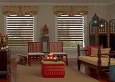 Brightly Colored Valance